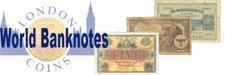 Sell your World Banknotes