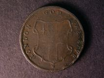 London Coins : A122 : Lot 1440 : USA Colonial Elephant Token C1672-94  thick planchet , London God preserve scarce VF slight rim ...
