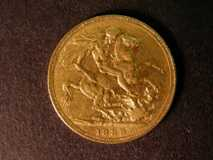London Coins : A122 : Lot 1922 : Sovereign 1888 S.3866B repositioned legend with D:G: now closer to the Crown, Normal JEB...