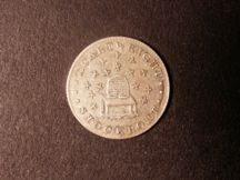 London Coins : A124 : Lot 1698 : Sixpence 19th Century Cheshire 1812 Stockport Davis 8 NEF