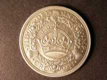 London Coins : A124 : Lot 207 : Crown 1930 ESC 370 Lustrous UNC or near so with some contact marks