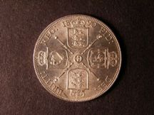 London Coins : A124 : Lot 365 : Florin 1890 ESC 872 Davies 817 dies 3D with harp and date crosses almost to beads Lustrous UNC with ...