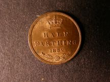 London Coins : A124 : Lot 418 : Half Farthing 1852 Peck 1598 A/UNC with traces of lustre