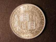 London Coins : A124 : Lot 446 : Halfcrown 1877 ESC 700 AU/UNC and lustrous scarce in this high grade