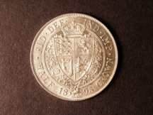 London Coins : A124 : Lot 471 : Halfcrown 1898 ESC 732 Lustrous UNC