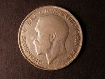 London Coins : A124 : Lot 496 : Halfcrown 1926 with one weak colon dot after OMN, struck from defective dies (see notes in ESC p...