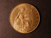 London Coins : A124 : Lot 817 : Penny 1912 Freeman 172 dies 1+A UNC with almost full lustre