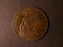 London Coins : A124 : Lot 833 : Penny 1919H Freeman 186 dies 2+B NEF