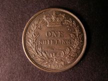 London Coins : A124 : Lot 860 : Shilling 1846 ESC 1293 UNC with superb toning