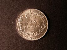 London Coins : A124 : Lot 953 : Sixpence 1903 ESC 1787 Lustrous UNC with a few minor contact marks on the obverse