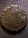London Coins : A125 : Lot 1045 : Halfpenny 1700 BRIIANNIA error also with unbarred A's VG weakly struck on Britannia, unlisted by...