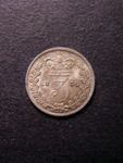 London Coins : A125 : Lot 1144 : Threepence 1838 ESC 2048 UNC with light bag marks on the obverse