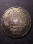London Coins : A125 : Lot 578 : Accession of Queen Anne 1702 Eimer 388 Obverse Crowned and Draped ANNA. D:G: MAG: BR:...