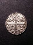 London Coins : A125 : Lot 745 : Penny Cnut Quatrefoil type S.1157 moneyer LEOFSIGE EF