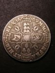 London Coins : A125 : Lot 942 : Crown 1669 9 over 8 ESC 39 only faint traces of the 8 visible VG/Near Fine