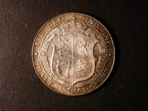 London Coins : A126 : Lot 1222 : Halfcrown 1907 ESC 752 GEF and with attractive toning