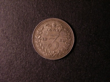 London Coins : A126 : Lot 1561 : Threepence 1830 EF/GEF Toned