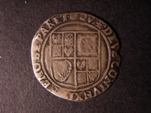 London Coins : A126 : Lot 858 : Shilling, James I, First bust, square cut beard (S2645). AVF