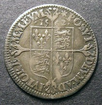London Coins : A126 : Lot 863 : Sixpence Elizabeth I Milled coinage 1562 S.2596 Large broad bust with elaborately decorated dress...