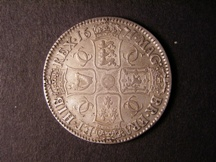 London Coins : A126 : Lot 881 : Crown 1671 VICESIMO TERTIO ESC 43 Good Fine with grey tone and a few flecks of haymarking