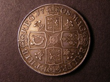 London Coins : A126 : Lot 903 : Crown 1708 Plumes ESC 108 NEF and scarce