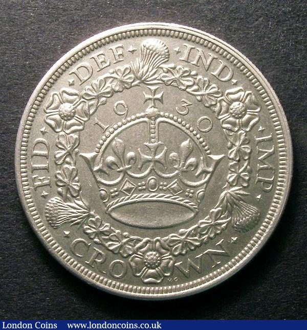Crown 1930 ESC 370 NEF/EF : English Coins : Auction 126 : Lot 945