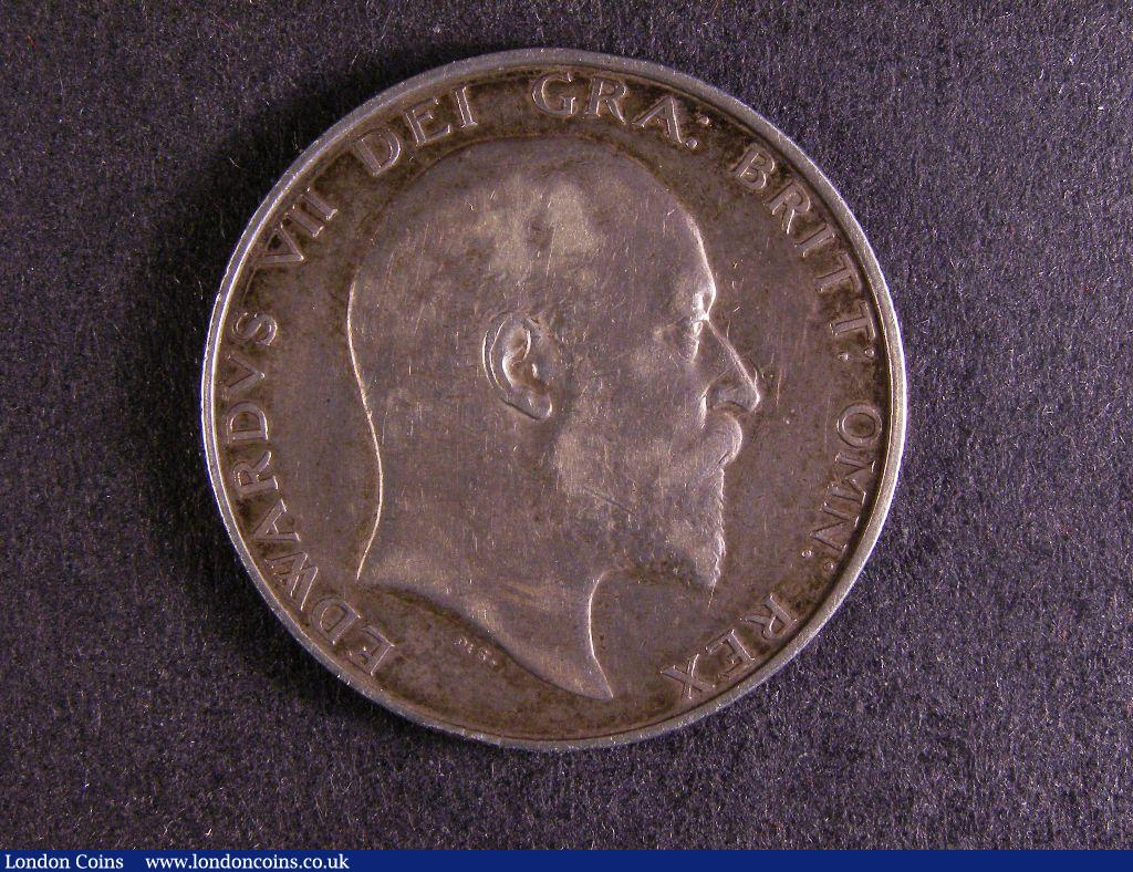 Halfcrown 1903 ESC 748 Good Fine/Fine with grey tone : English Coins : Auction 127 : Lot 1610