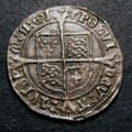 London Coins : A129 : Lot 1062 : Groat Henry VIII Second Coinage Profile bust Laker bust D S.2337E Mintmark Lis GVF or better and wel...