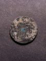 London Coins : A129 : Lot 1280 : Farthing 1687 Tin type 2 Peck 557-560 some of the edge lettering visible but not enough for a full a...