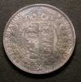 London Coins : A129 : Lot 1479 : Halfcrown 1890 ESC 723 GEF with grey tone