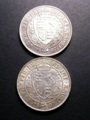 London Coins : A129 : Lot 1514 : Halfcrowns 1897 (2) ESC 731 NEF the reverse cleaned, 1897 GEF