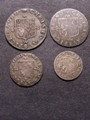 London Coins : A129 : Lot 1653 : Maundy Set Charles II undated S.2365 F-VF