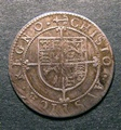 London Coins : A130 : Lot 1007 : Sixpence Charles I Briot's Second Milled Coinage S.2860 CHISTO error legend, VF with some flan r...