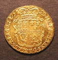 London Coins : A130 : Lot 1264 : Half Guinea 1759 S.3685 EF with some contact marks on the obverse