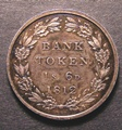 London Coins : A130 : Lot 1466 : One Shilling and Sixpence Bank Token 1812 Proof ESC 973 toned nFDC some contact marks