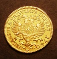 London Coins : A130 : Lot 499 : German States - Bavaria Goldgulden 1740 Karl Albrecht KM#194 NEF with a small dig at L of ALB and wi...
