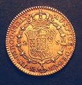 London Coins : A130 : Lot 571 : Spain 2 Escudos 1798 MF KM#435.1 GF/NVF