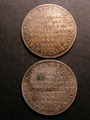 London Coins : A130 : Lot 822 : Shilling 19th Century Nottinghamshire Newark 1811 Town Hall Davis 1 GVF and Davis 5 NVF