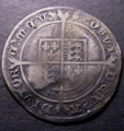London Coins : A131 : Lot 1017 : Shilling Edward VI  Fine Silver Issues mint mark Tun S2482 approaching Fine some scratches reverse f...