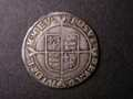 London Coins : A131 : Lot 1025 : Shilling Elizabeth I First Issue Bust Id S.2549 mintmark Lis Fine