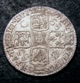 London Coins : A131 : Lot 1723 : Shilling 1723 SSC C over SS ESC 1176A, UNC with some light adjustment lines near the 23 of the d...