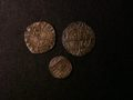 London Coins : A131 : Lot 996 : Pennies Elizabeth I (3) Second Issue S.2558 mintmark Martlet 1560-1561 NVF, Fifth Issue S.2580 m...