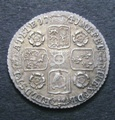 London Coins : A132 : Lot 1251 : Sixpence 1741 Roses ESC 1613 GEF