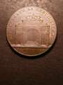 London Coins : A132 : Lot 514 : Penny 18th Century Middlesex 1797 Kempson's series of London Buildings Bishopsgate as rebuilt 1729 D...