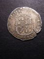 London Coins : A132 : Lot 647 : Sixpence Charles I S.2810 Plume above shield (1631-1632) mintmark Rose VF with a flan crack  at 5 to...