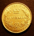 London Coins : A132 : Lot 658 : Australia Sovereign 1867 Sydney Branch Mint Marsh 372 GVF/NEF with some surface marks