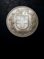 London Coins : A132 : Lot 804 : Switzerland 5 Francs 1926B KM#38 GEF