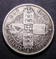London Coins : A132 : Lot 959 : Florin 1854 no stop after date ESC 811a R3 VG the reverse slightly better
