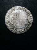 London Coins : A133 : Lot 152 : Halfcrown James I Third Coinage S.2666 mintmark Rose, King on horseback weak otherwise Fine