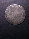 London Coins : A133 : Lot 201 : Sixpence Elizabeth I 1562 S.2596 Milled Coinage Large Broad Bust with elaborately decorated dress...